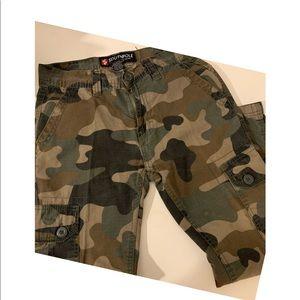 South Pole camouflage print boys pants